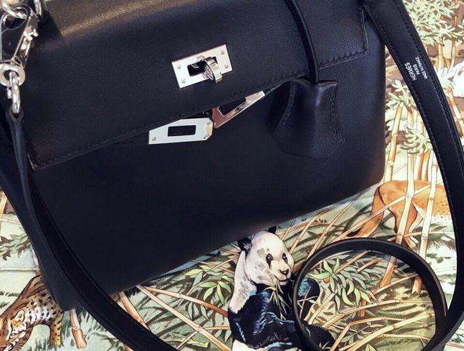 【エルメス】ケリー25のバックインバッグは使っていません。